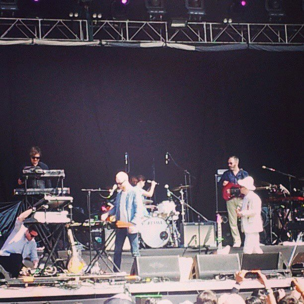 Hot Chip Lollapalooza 2013